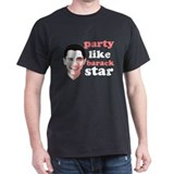 Party Like Barack Star - Bar T-Shirt