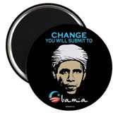 "Obama - Change 2.25"" Magnet (100 pack)"