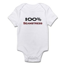 100 Percent Seamstress Infant Bodysuit