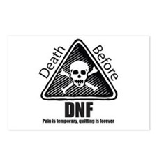 Death Before DNF Postcards (Package of 8)