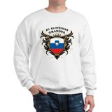 Number One Slovenian Grandpa Sweatshirt