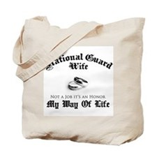 USNG Wife: It's an Honor Tote Bag