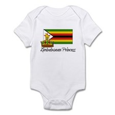 Zimbabwean Princess Infant Bodysuit