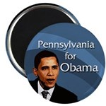 Pennsylvania for Obama Campaign Magnet