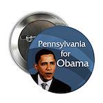 Pennsylvania for Barack Obama Button