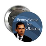 """Penn for Obama 2.25"""" Buttons (100 pack)"""