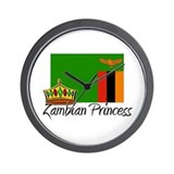 Zambian Princess Wall Clock