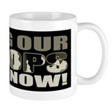 Bring Troops Home Now Mug