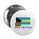"Vatican City Princess 2.25"" Button"