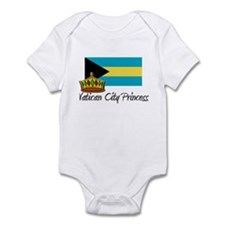 Vatican City Princess Infant Bodysuit