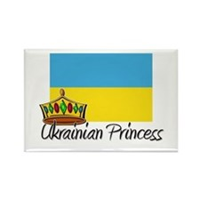 Ukrainian Princess Rectangle Magnet