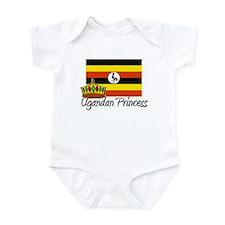 Ugandan Princess Infant Bodysuit