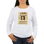 Buckskin Frank Women's Long Sleeve T-Shirt