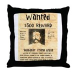 Buckskin Frank Throw Pillow