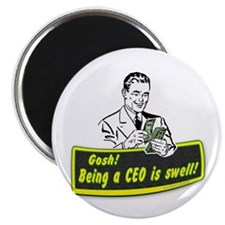 """The CEO... 2.25"""" Magnet (100 pack)"""