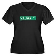 Sullivan Street in NY Women's Plus Size V-Neck Dar