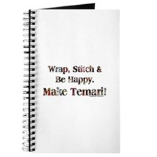 Wrap, Stitch Be Happy Temari Journal