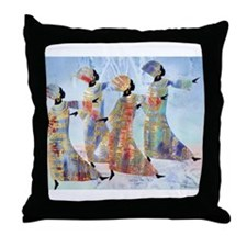 Celebration dance mother`s day Throw Pillow