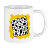 Word Nerd Crossword Coffee Small Mug
