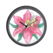 Risque Fairy Wall Clock