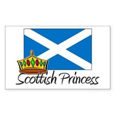 Scottish Princess Rectangle Decal
