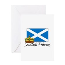 Scottish Princess Greeting Card