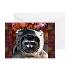 Raccoon In Space! Greeting Cards (Pk of 20)