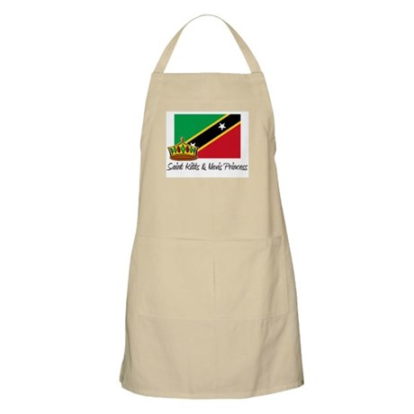 Saint Kitts & Nevis Princess BBQ Apron