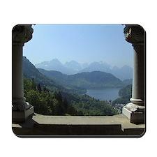 Bavarian Alps Mousepad