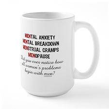 WoMEN Problem  Mug