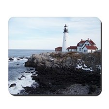 Scenic Portland Headlight Mousepad