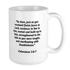Rooted in Christ Memory Verse Mug