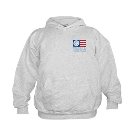 Obama Smiles Kids Sweatshirt