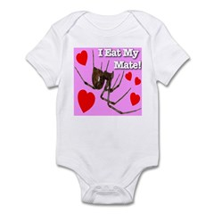 I Eat My Mate! Infant Bodysuit