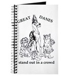 C HarlStandOut Great Dane Notepad