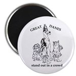 C HarlStandOut Great Dane Magnet