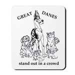 C HarlStandOut Great Dane Mousepad