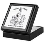 C HarlStandOut Great Dane Keepsake Box