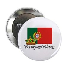 "Portuguese Princess 2.25"" Button"