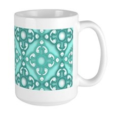 Large Zebrafish Stages Mug in Icy Blue