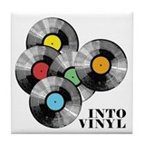 Into Vinyl - Tile Coaster