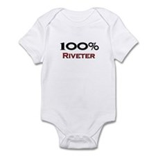 100 Percent Riveter Infant Bodysuit