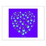 Love Aglow Small Poster