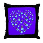 Love Aglow Throw Pillow