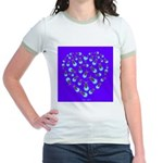 Love Aglow Jr. Ringer T-Shirt