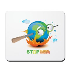 Earth Skewer Mousepad