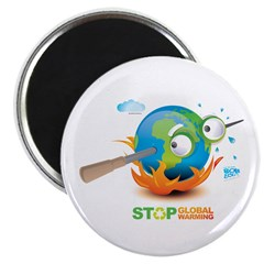 "Earth Skewer 2.25"" Magnet (100 pack)"
