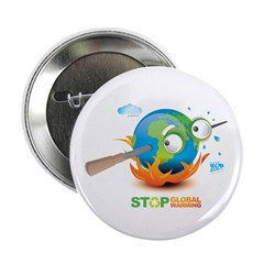 "Earth Skewer 2.25"" Button (100 pack)"