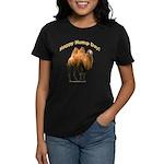 Happy Hump Day! Women's Dark T-Shirt