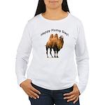 Happy Hump Day! Women's Long Sleeve T-Shirt